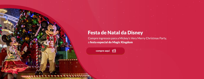 Festas de Halloween e Natal da Disney