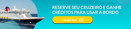 Reserve seu Cruzeiro e Ganhe Créditos par Usar a Bordo