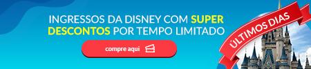Compre seus ingressos para a Disney com desconto